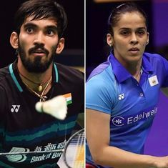 French Open: Saina Nehwal fights back to defeat Okuhara; Manu-Sumeeth upset world No 3 Chinese pair