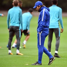 'Club has to decide to send me away': Conte can't guarantee Chelsea future