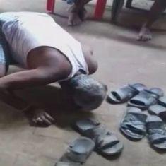 बिहार में दस्तक दिए बगैर सरपंच के घर में घुसे शख्स को थूक चटवाने सहित दिन के बड़े समाचार