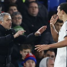 Mourinho laments Ibrahimovic's 'sad' exit from Europe