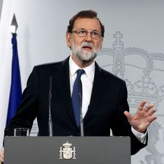 Spanish Prime Minister Mariano Rajoy calls for Catalonia Parliament to be formed on January 17