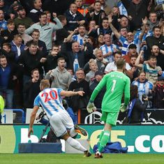 Huddersfield hand Man United shock first defeat of season, City move 5 points clear at top