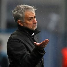 Jose Mourinho blasts Manchester United players' 'poor attitude' after Huddersfield defeat