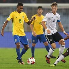 Fifa Under-17 World Cup: Paulinho wonder-strike knocks Germany out in Kolkata as Brazil march on