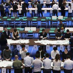 जापान के प्रधानमंत्री शिंज़ो आबे ने दो तिहाई बहुमत के साथ सत्ता में वापसी की
