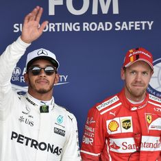 Formula One: Sebastian Vettel's lack of fight has surprised Lewis Hamilton