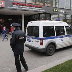Russian radio journalist stabbed in the neck inside her Moscow office, attacker arrested