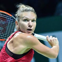 WTA Finals: Top-ranked Simona Halep lays down marker with crushing victory over Caroline Garcia