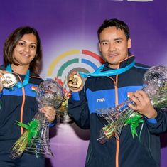Great to win in front of our people: Heena Sidhu after winning first-ever mixed team gold