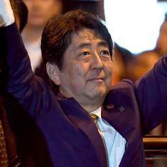 Japan's Shinzo Abe re-elected as prime minister after landslide win in snap polls