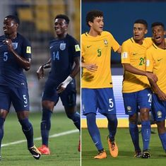 Fifa U-17 World Cup semi-final: Where Brazilian flair meets steely English resolve