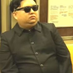 Watch: This man impersonated North Korea's Kim Jong Un and walked around the streets of New York