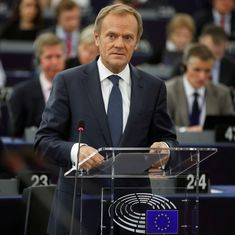 European Union President Donald Tusk says reversing Brexit is still a possibility