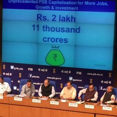 The big news: Centre announces massive PSB capitalisation plan, and nine other top stories