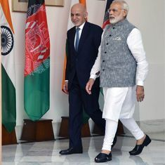 Afghan President Ashraf Ghani, PM Narendra Modi express 'firm resolve' to end terrorism