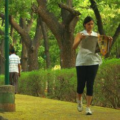 Lab notes: Those who exercise in large parks in cities are less prone to depression