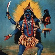 Could the Western world be completely wrong in thinking Kali is a demonised goddess in India?