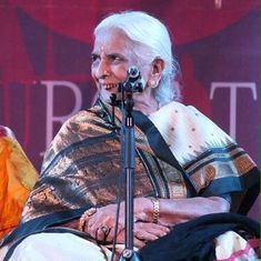 'Thumri queen' Girija Devi dies in Kolkata