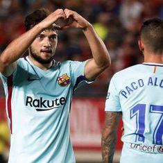 Copa del Rey: Barcelona reserve team sails to victory, Valencia in control