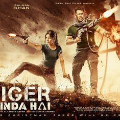 Gun-toting Salman Khan and Katrina Kaif in second poster of 'Tiger Zinda Hai'