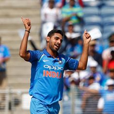 Bhuvneshwar, Dinesh Karthik shine as India level series against New Zealand in Pune