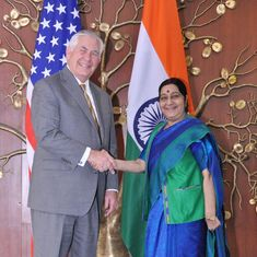 'Too many terrorist outfits find a haven in Pakistan': Rex Tillerson says after meeting Swaraj