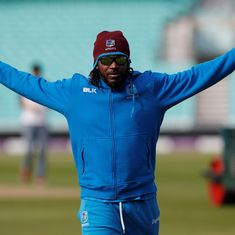 Gayle becomes first ever West Indies cricketer to play 300 ODIs, goes past Lara's run tally too