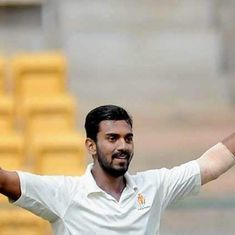 Data check: The rapidly increasing frequency of triple centuries in the Ranji Trophy
