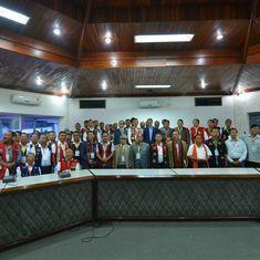 Kuki, Naga militants sign historic pact to 'resolve differences'
