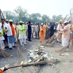 The big news: Adityanath participates in cleanliness drive at Taj Mahal, and nine other top stories