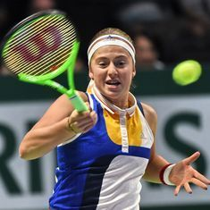 Jelena Ostapenko caps disappointing WTA Finals with inspired win over Karolina Pliskova