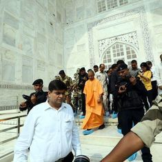 Those who have divided the society on caste lines are questioning my Agra visit, says Adityanath