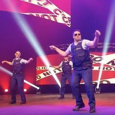 Watch: In New Zealand police officers can dance to Bollywood numbers (and own the stage)
