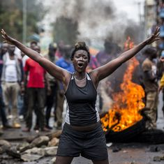 Kenya election: Three civilians killed, at least 20 injured as protestors clash with police