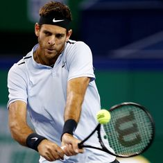 Del Potro closes in on Tour Finals after reaching quarters at Paris Masters