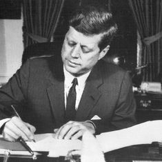 Donald Trump releases over 2,800 secret files about John F Kennedy's assassination