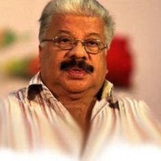 Malayalam author Punathil Kunjabdulla dies at 77