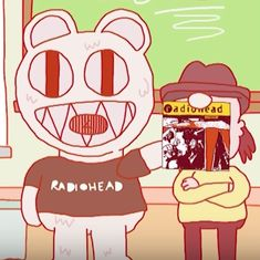 Watch: This hilarious, eccentric animated history of Radiohead is perfectly suited to the cult band