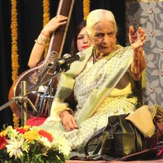 Readers' comments: 'With Girija Devi's demise, India has lost a national treasure'
