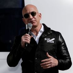 Amazon CEO Jeff Bezos accuses tabloid of blackmailing him with his private photos