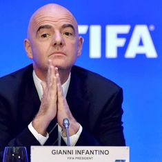 Gianni Infantino sole candidate for Fifa president during elections in June, set for second term