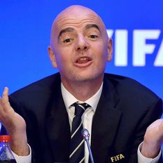 FIFA chief Infantino recommended as International Olympic Committee member, says president Bach