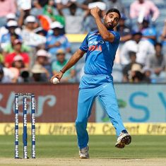 First T20I, as it happened: Bhuvneshwar takes five, 28-run win for Kohli and Co
