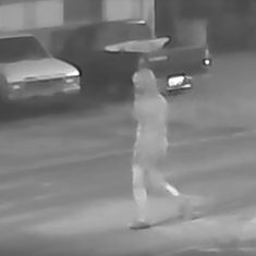 A suspected serial killer may be on the loose in Florida. Watch this eerie surveillance footage