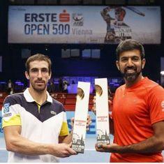 Bopanna-Cuevas emerge champions in Vienna, Myneni-Prashanth clinch Vietnam Open crown