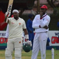 Masakadza leads Zimbabwe's recovery in 2nd Test with steely hundred