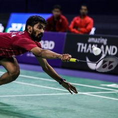 Srikanth loses as Indian men go down 2-3 to Indonesia in Badminton Asia Team Championship