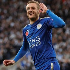 Jamie Vardy gives new manager Claude Puel perfect start as Leicester beat Everton 2-0