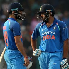 Rohit Sharma-Virat Kohli are the most devastating one-two punch in cricket