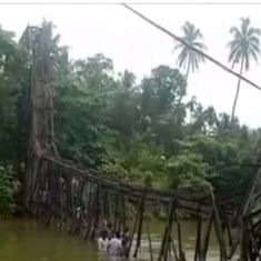 Three dead, 57 injured after bridge collapses in Kerala's Kollam district